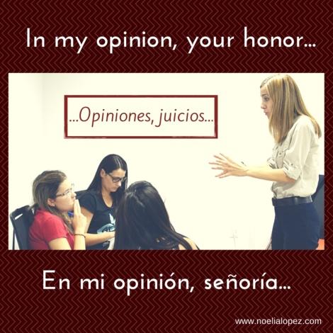 opiniones