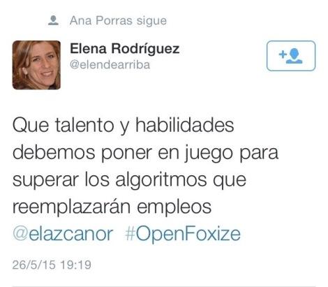 Tweet OpenFoxize